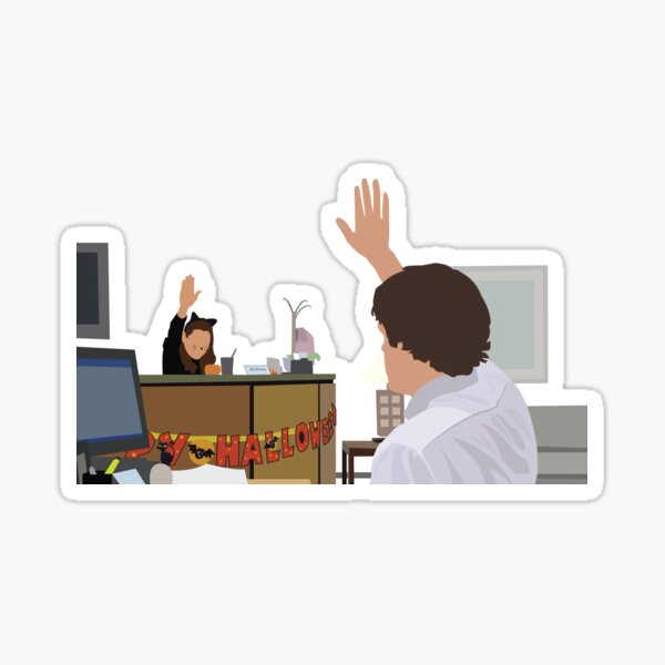 Jim & Pam Sticker