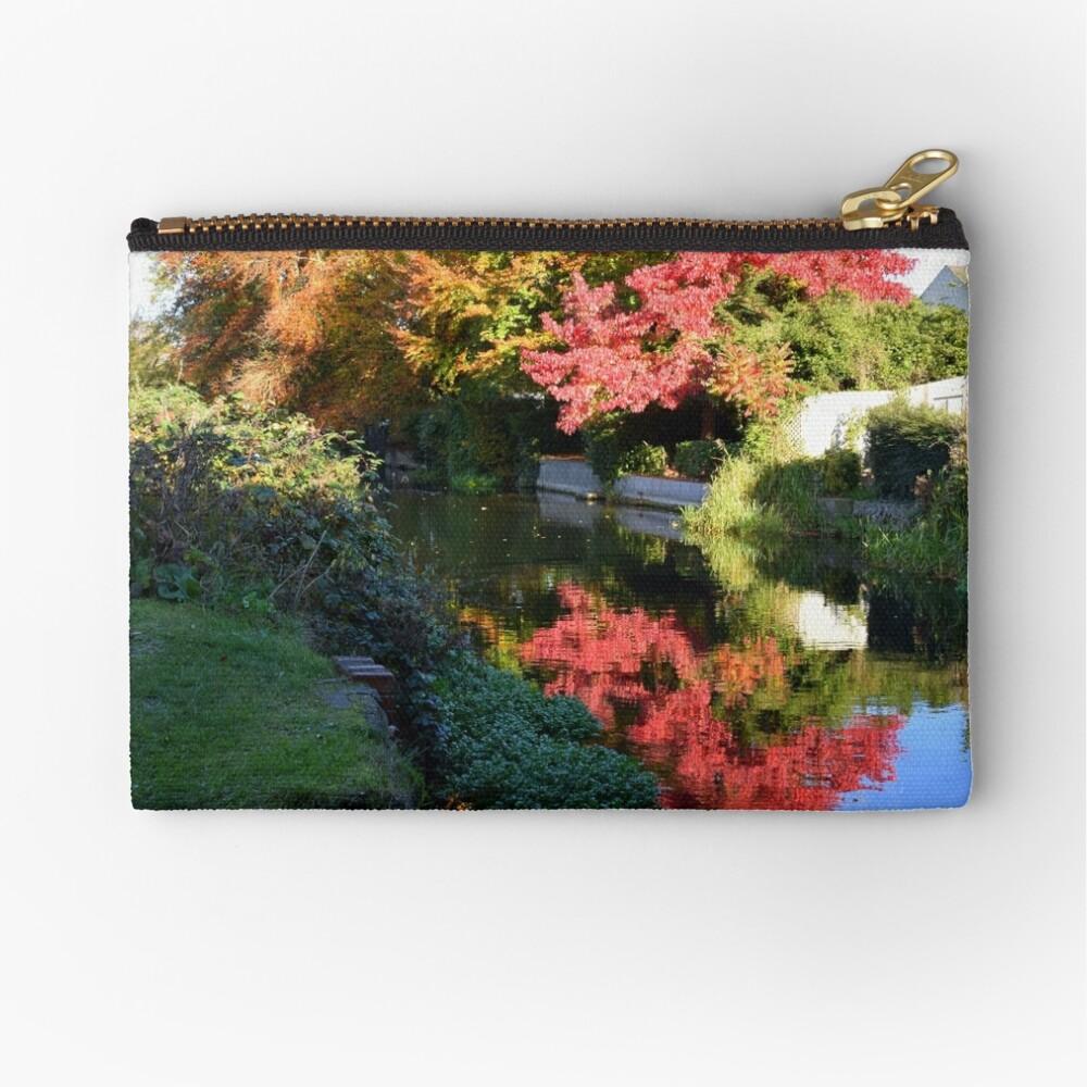 Autumn reflection Zipper Pouch
