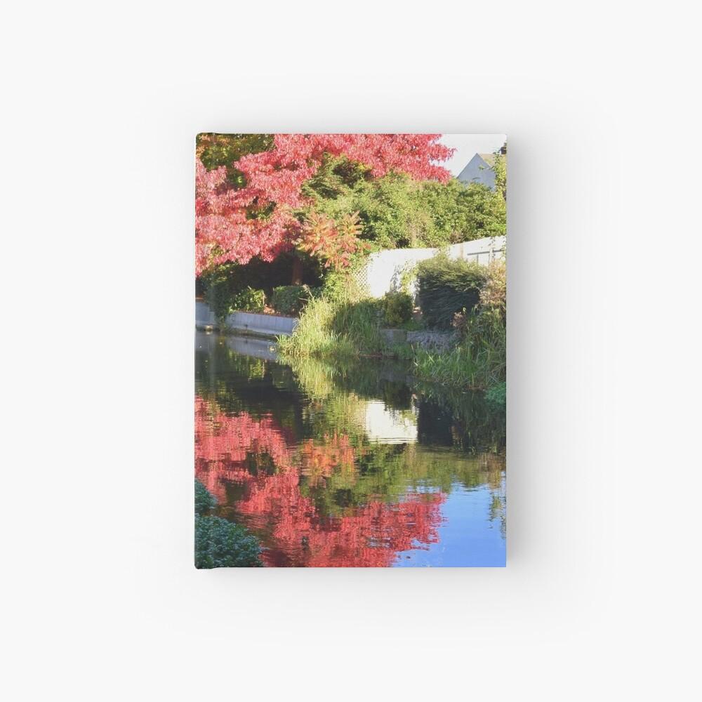 Autumn reflection Hardcover Journal