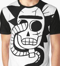 Rick and Morty / Rick Sanchez / Rick Skull Graphic T-Shirt