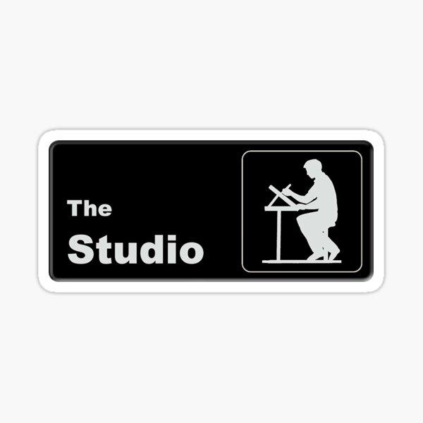 The Studio - Office Themed Logo Sticker