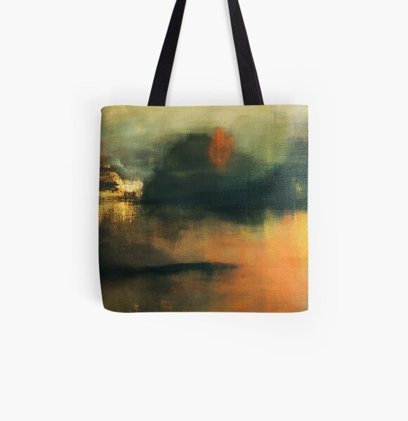 """ Paisible Exil "" by Gilles Cueille Tote bag doublé"