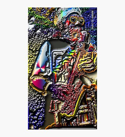 EEEZZZYY  PHLAT Photographic Print