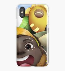 Here to Help! iPhone Case/Skin