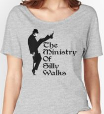 The Ministry Of Silly Walks Women's Relaxed Fit T-Shirt