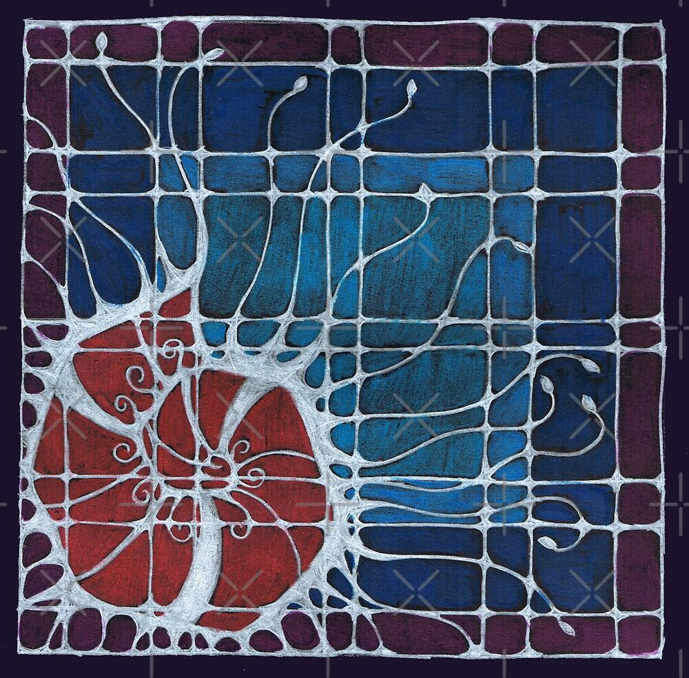 Luna Window 3 by Marita