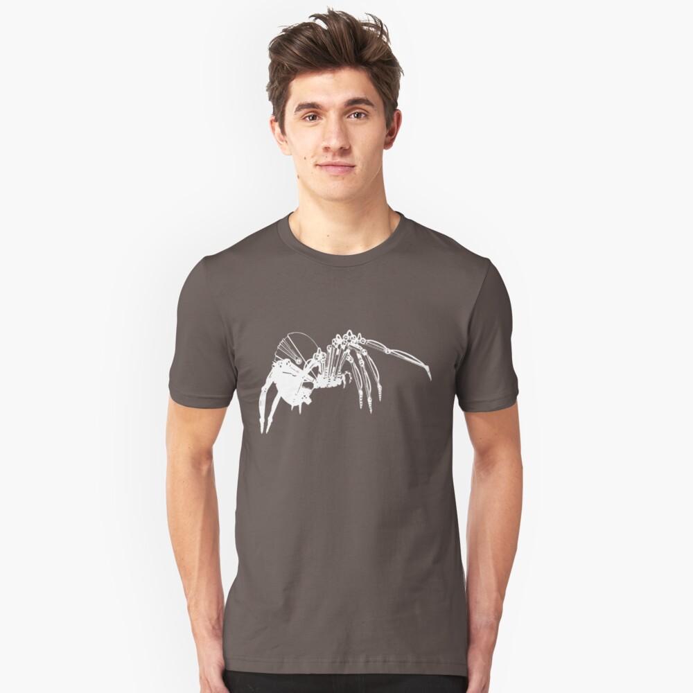 industrial evolution white Unisex T-Shirt Front