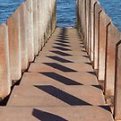 Boardwalk Shadows by Sarah Mosbey