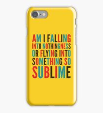Fun Home - Changing My Major Lyrics iPhone Case/Skin