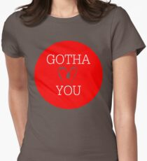 Gotha Love You Womens Fitted T-Shirt