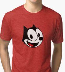 Camiseta de tejido mixto FELIX EL CAT Rojo