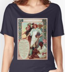 Walter Crane Columbia's Courtship Immigrants Women's Relaxed Fit T-Shirt
