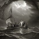 Jesus Christ Stills the Tempest by Vintage Works