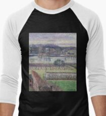 Camille Pissarro - View From The Artist`s Window, Flood, Evening Effect, Eragny, 1893 T-Shirt