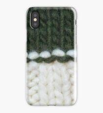 Wool yarn winter. iPhone Case/Skin