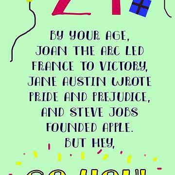 Go You! Birthday card by mariatorg