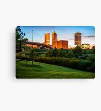 Beautiful Tulsa Oklahoma - Central Park Canvas Print