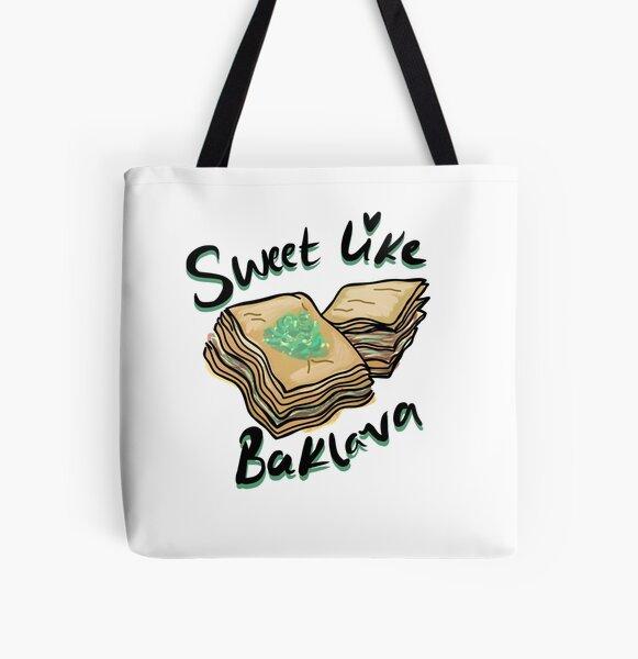 SWEET COMME BAKLAVA Tote bag doublé