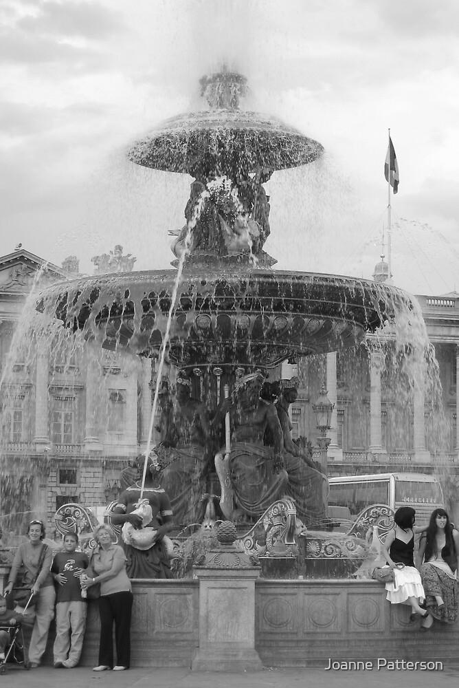 Fountain, Place De La Concord, Paris by Joanne Patterson