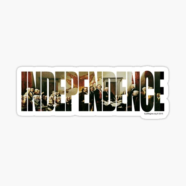 Independence Sticker