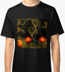 Decorative poppy Classic T-Shirt