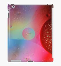 Digital Oil Drop Abstract iPad Case/Skin