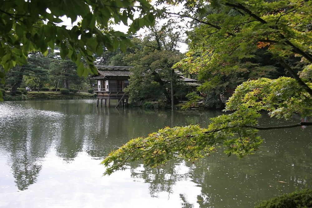 Kenrokuen Garden - Kanazawa by Trishy