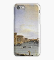 Canaletto - Grand Canal From The Palazzo Balbi iPhone Case/Skin
