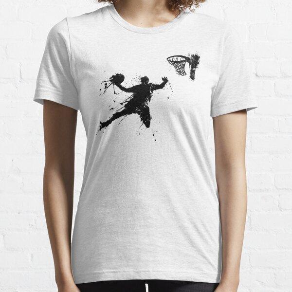 Basketballer slam dunking T-shirt essentiel