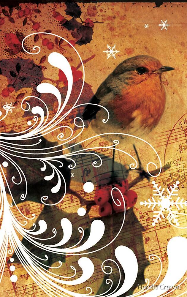 christmas birds 2 by Narelle Craven