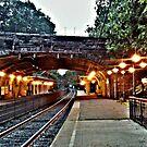 Glen Ridge Station (2nd view) by Jane Neill-Hancock