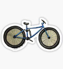 Bike Drawing Sticker