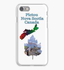 Pictou Nova Scotia Canada iPhone Case/Skin