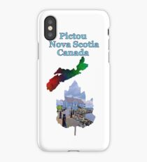 Pictou Nova Scotia Canada iPhone Case/Skin