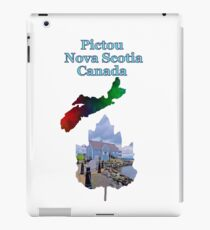 Pictou Nova Scotia Canada iPad Case/Skin