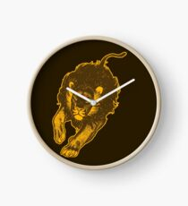 Lion, lion T-Shirts by Cheerful Madness!! Clock