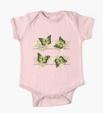 Four green butterflies Kids Clothes