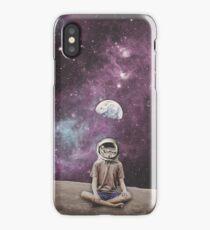PSYCHONAUT SPACE MEDITATION iPhone Case/Skin