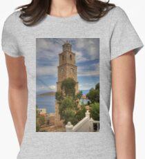 Nimborio Clock Tower Women's Fitted T-Shirt
