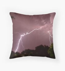 Electrifying! Throw Pillow