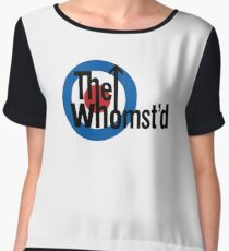The Whomst'd Chiffon Top