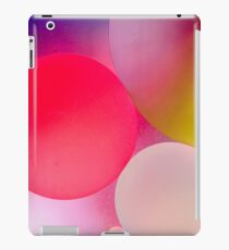 Pastel Oil Bubble Water Drops iPad Case/Skin