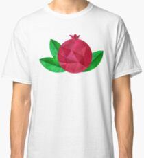 Pomegranate polygonal pattern Classic T-Shirt