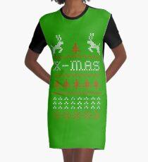 Merry Christmas / x-mas knit design ugly Graphic T-Shirt Dress