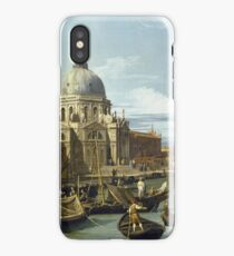 Canaletto - The Entrance To The Grand Canal, Venice iPhone Case/Skin