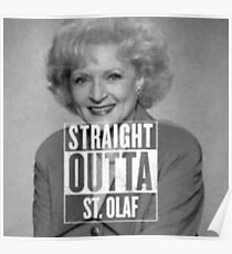 Straight Outta St. Olaf Poster