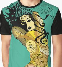 Maplady1: Woman Girl Power design freedom and beauty  Graphic T-Shirt
