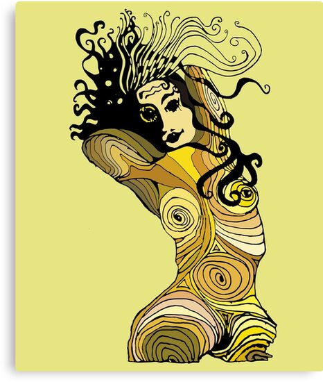 Maplady1: Woman Girl Power design freedom and beauty  by ALFAIROS