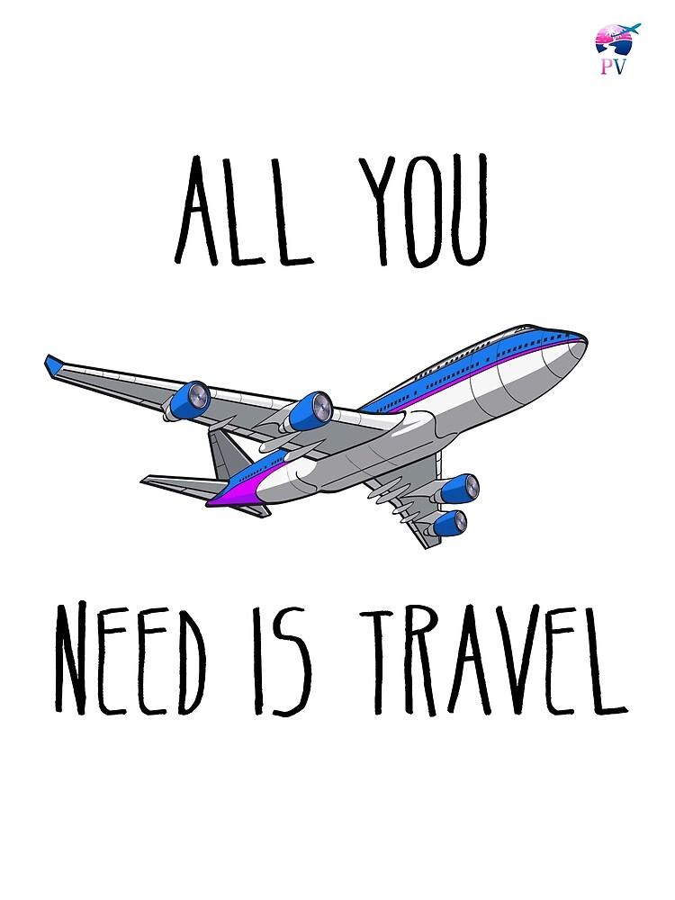 «All you need is travel - ParejitaViajera» de RStyle