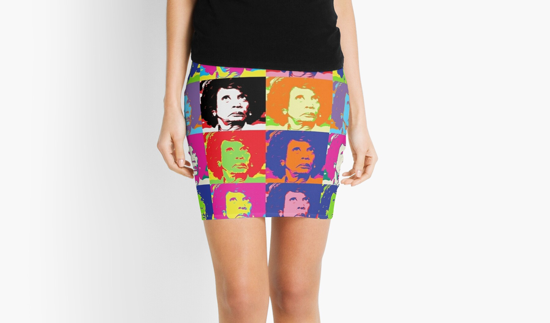 Maxine Superstar Mini Skirts By Thelittlelord Redbubble
